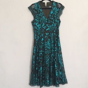 Anthropologie Eva Franco sequined Dress SZ 12